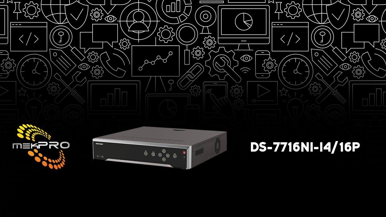 Hikvision DS-7716NI-I4 NVR Driver FREE