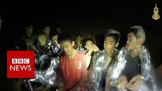 Thailand cave rescue: Mission to save boys under way - BBC News Poster