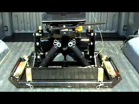 Fifth Wheel To Gooseneck Hitch >> Hensley BD3 Action.mpg - YouTube