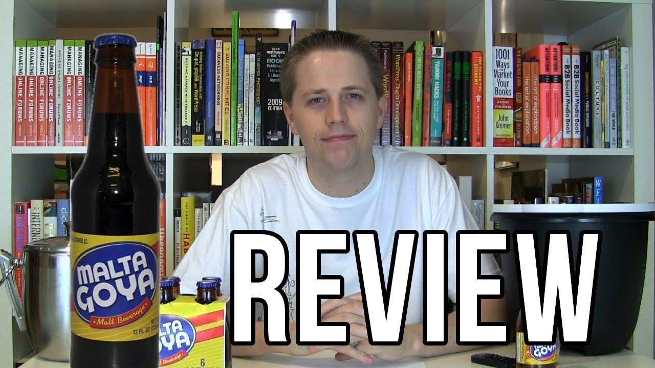 Malta Goya Review Soda Tasting 188 Youtube