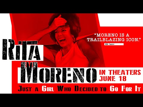 Rita Moreno: Just a Girl Who Decided To Go For It -Official Trailer | In Theaters June 18