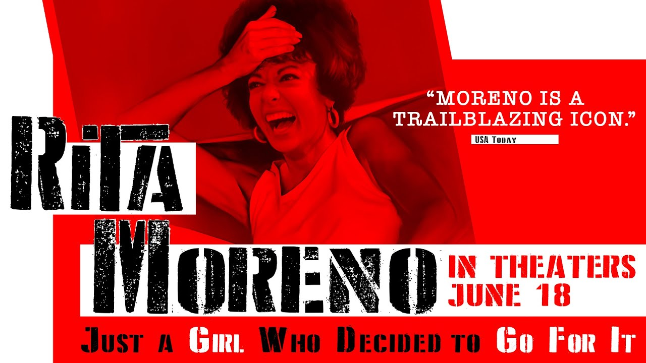 Festival presents 'Rita Moreno: Just a Girl Who Decided to Go for It' July 23-29