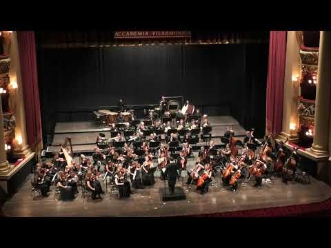 Концерт Симфонического оркестра МГИМ им. А.Г. Шнитке в Вероне, 2 отделение