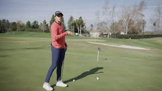 Find The Putting Fall Line With Sierra Brooks | TaylorMade Golf