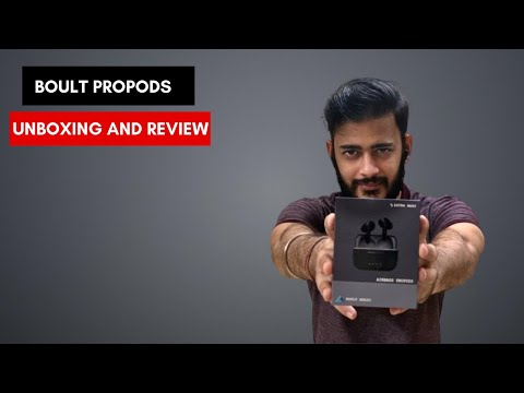 Boult Audio AirBass Propods | Unboxing and review | Features | Worth to buy?