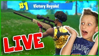 Snipe or NOT? Going for the Victory Royale!!! Mini NINJA Live Stream :)