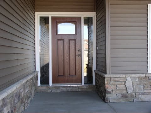 Brown Front Door Colors for Home Designs