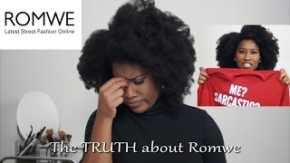 The Truth about ROMWE | ROMWE asked me to review their clothes...Here