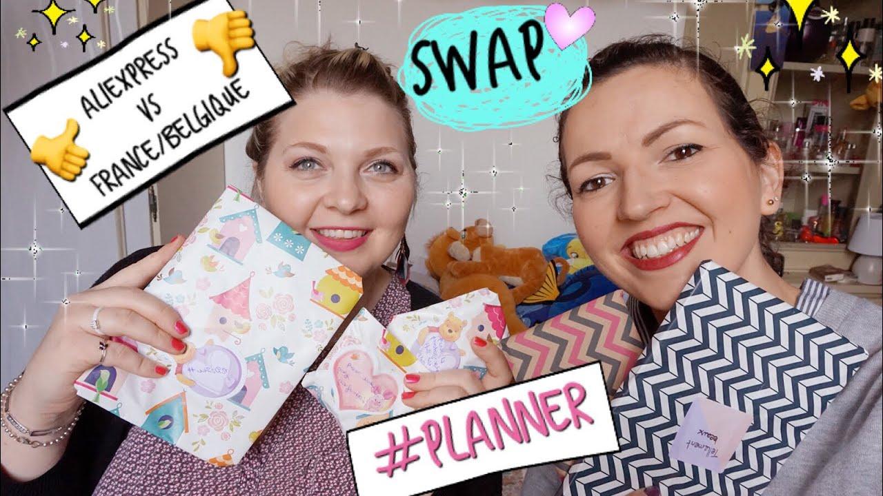 e2e3f560572 SWAP   BOX Planner ➳ spécial ALIEXPRESS avec Nanie - YouTube