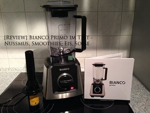 review bianco primo im test nussmus smoothies eis so e youtube. Black Bedroom Furniture Sets. Home Design Ideas