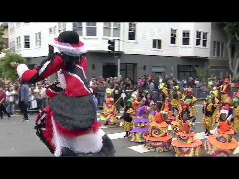 Part 1 of 2: Carnaval San Francisco Parade 2017