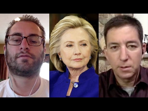 Jordan & Glenn Greenwald on Democratic Party TRAIN WRECK