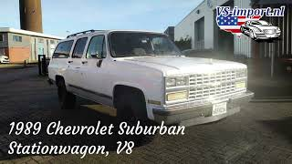 1989 Chevrolet Suburban V8 | VS-import.nl