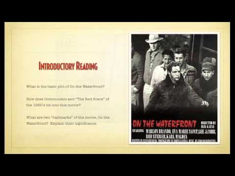 History of American Film - On The Waterfront
