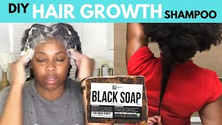 African Black Soap Benefits + DIY Ayurvedic Black Soap Shampoo for Extreme Hair Growth| Tip Tuesday