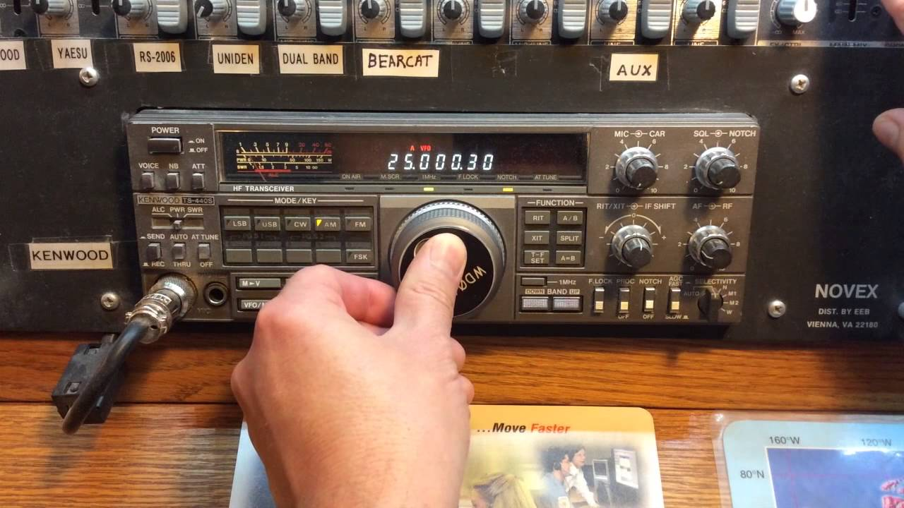 WWV Heard On 25Mhz - Catch It While You Can! It's About Time