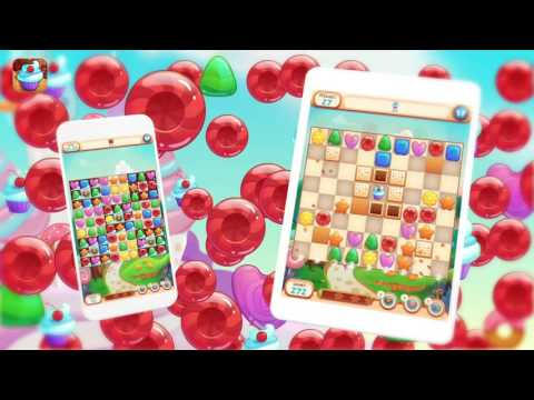 Sweet Candies 2 - Tasty Match 3 Puzzle for iOS & Android