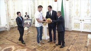 «Так держать!»: Минниханов поздравил казанский «Синтез» с победой в Суперкубке России