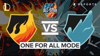 Highlights: Team Fire Vs Team Ice One For All (All-Stars Barcelona 2016)