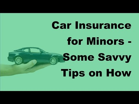 Car Insurance for Minors | Some Savvy Tips on How to Get Discounts   2017 Teen Low Car Insurance Pol