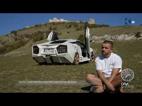 """Ora 7 - """"Lamborghini"""" kosovar i ndërtuar nga Driton Selmani - Klan Kosova"""