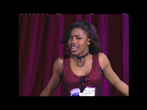 Angela Peel auditions with hit As We Lay by Shirley Murdock   American Idol
