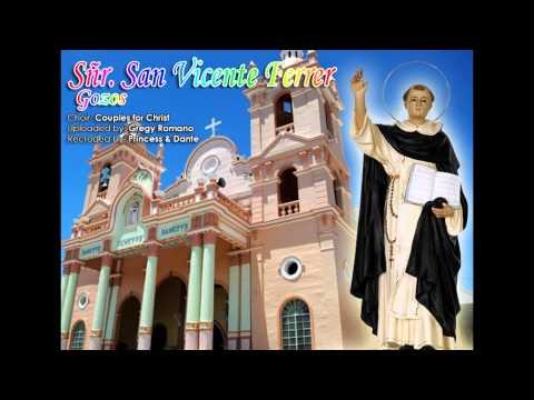 Sñr   San Vicente Ferrer Gozos