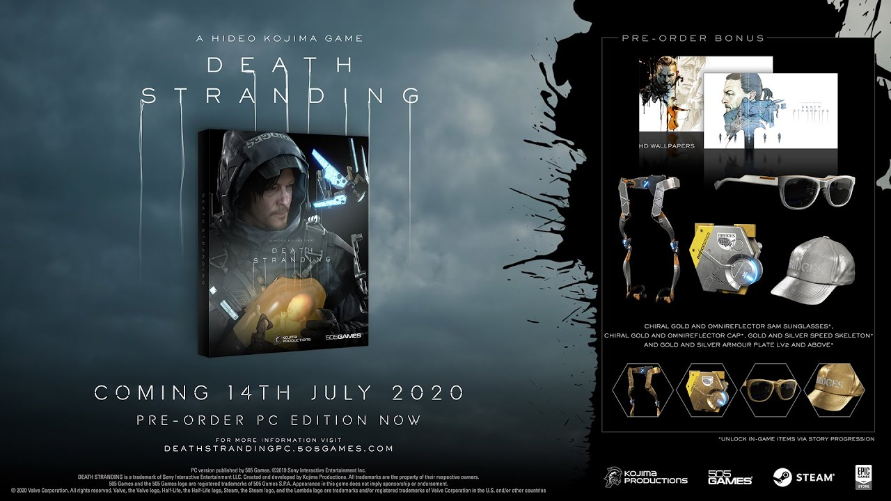 DEATH STRANDING PC Release Date Trailer [ESRB] thumbnail