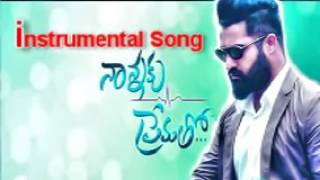 Nanna Ku PremathoTitle Sond instrumental song||Telugu Movie 2016||Ntr||Rakhul preet singh