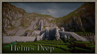 Minecraft: Battles of middle earth - Helms Deep