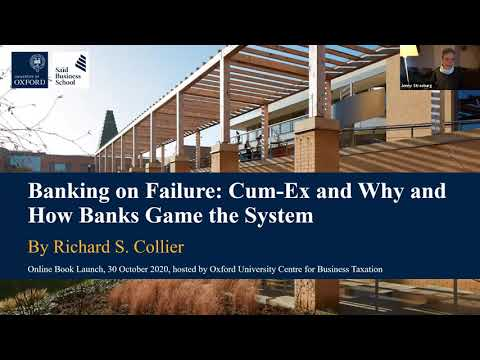 Banking on Failure: Cum-Ex and Why and How Banks Game the System
