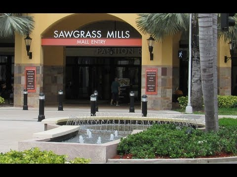 Sawgrass Mills The Biggest Mall in the US - Shopping Outlet Tour and Haul #TravelTips #RetailTherapy