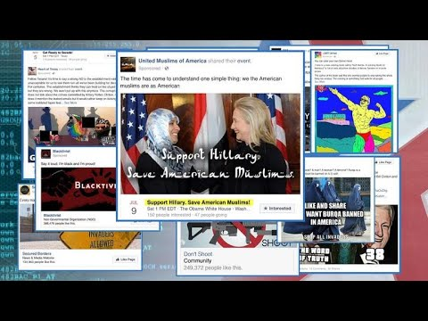 Lawmakers release Russia-linked ads that spread on social media