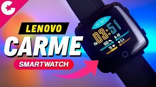 Lenovo Carme (HW25P) Smartwatch Review - WORTH BUYING??