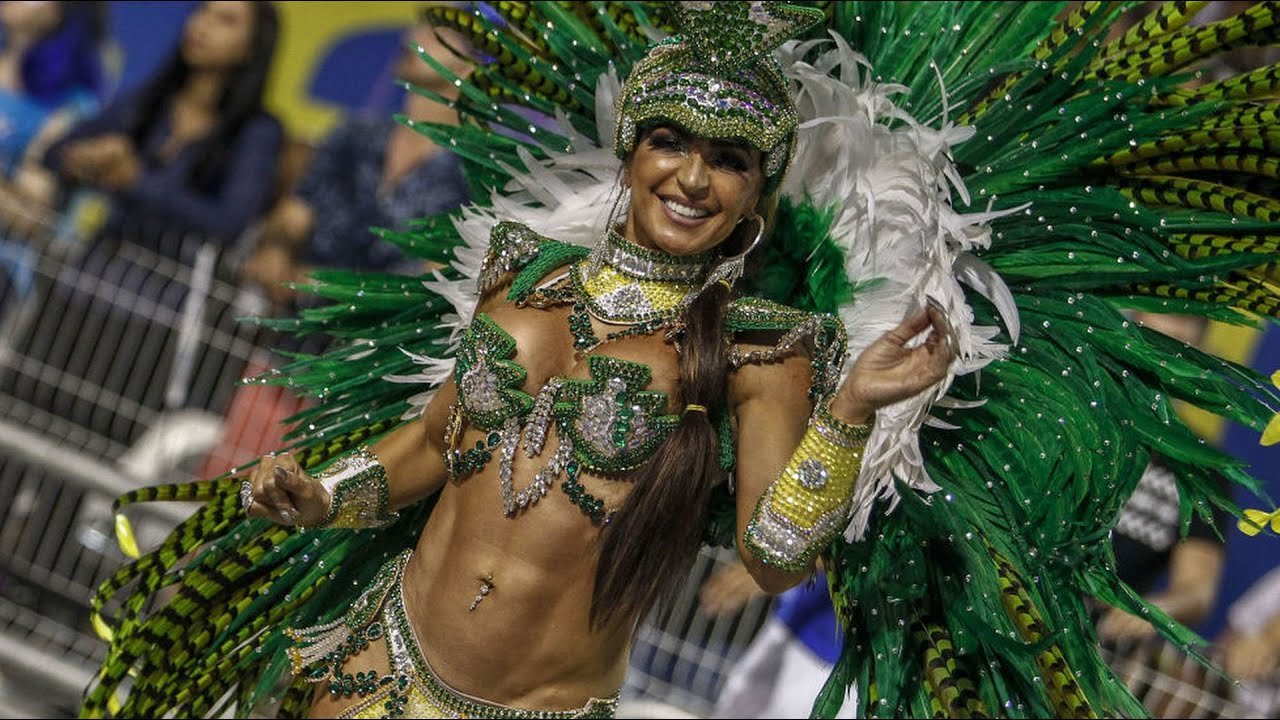 Rio carnival sees naked body paint, thongs and slave