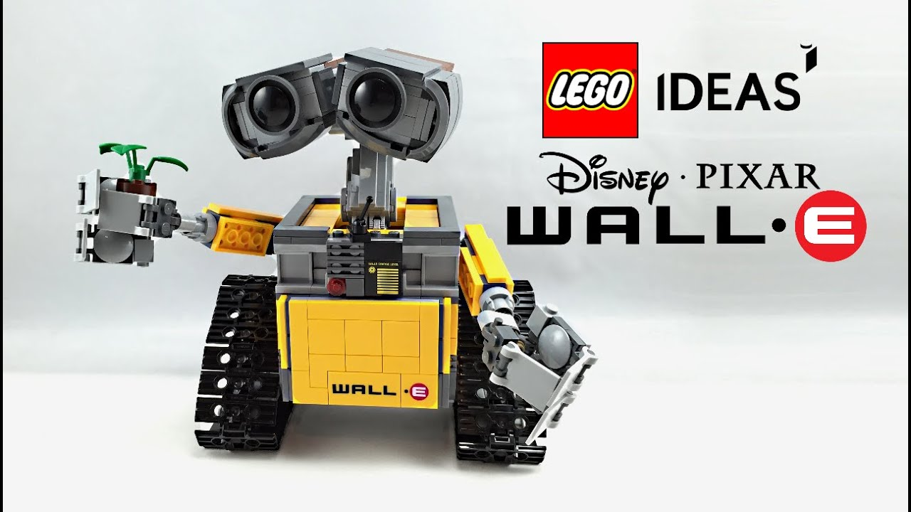 lego wall e set review 21303 youtube. Black Bedroom Furniture Sets. Home Design Ideas
