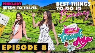 MISS PINKLADY TRAVEL IN ASIA EPS 8 - BEST THINGS TO DO IN BANDUNG, INDONESIA.