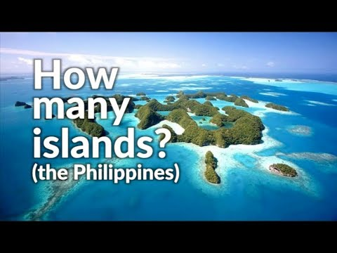 How many islands are in the Philippines?