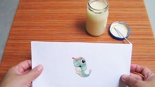 DIY || Cara Membuat Lem Yang Aman Untuk Anak-anak - Homemade Glue For Kids Crafts