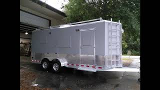 E1 - Cargo Trailer Conversion To A Travel Trailer - Just Keep On Moving