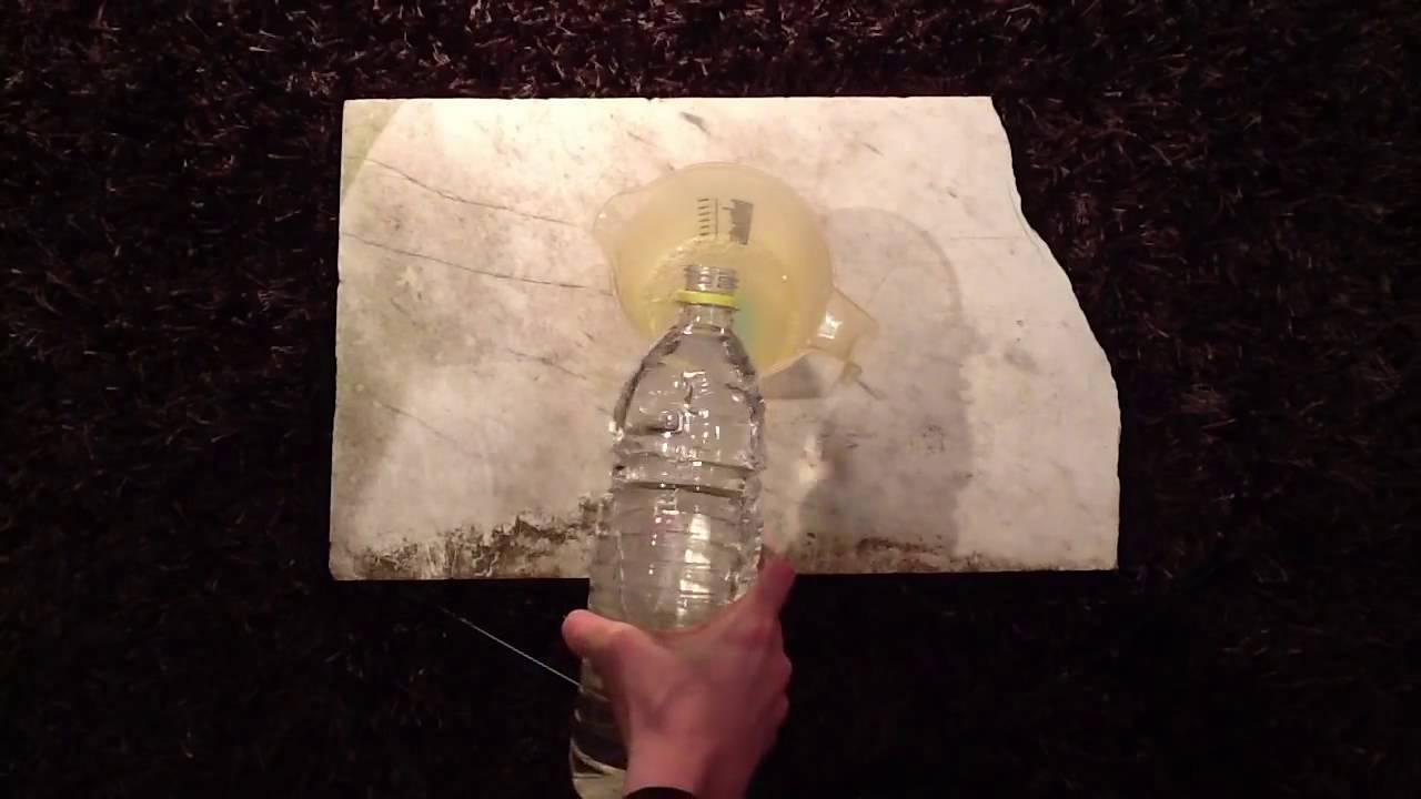 Beliebt Natursteinplatten richtig reinigen / Steinfliesen säubern - YouTube BY79