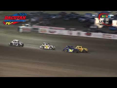 Dacotah Speedway   INEX Legends   8-23-19