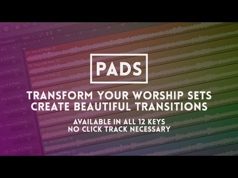 Pads - Create Ambience in Your Worship Set - Worship Tutorials