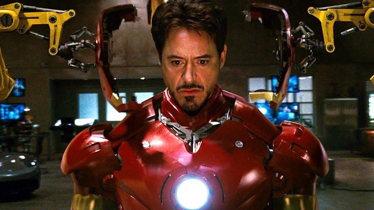 Iron Man - Suit Up Scene - Mark III Armor - Movie CLIP HD
