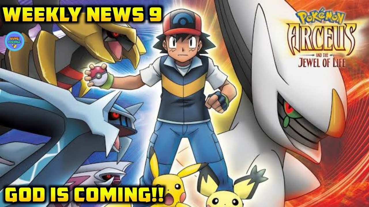 Pokemon Movie 12, 4, 5 on Marvel HQ! | Slayypoint is a Beyblade Fan | Anime | Anime Weekly News 9