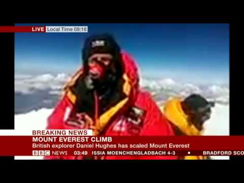 Everest Million - Highest ever live video interview to the BBC. (via skype)