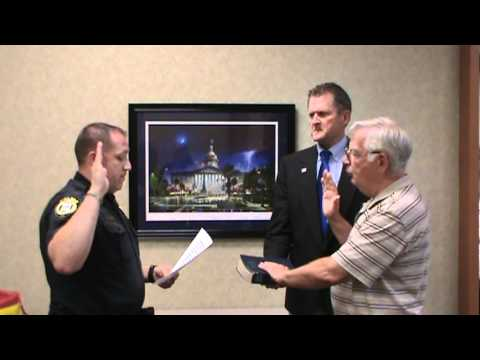 James Patrick Donlon gets sworn in for Northern District Chair LCGOP 5/22/12 .mpg