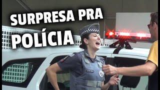 PEGADINHA SURPRESA PRA POLÍCIA