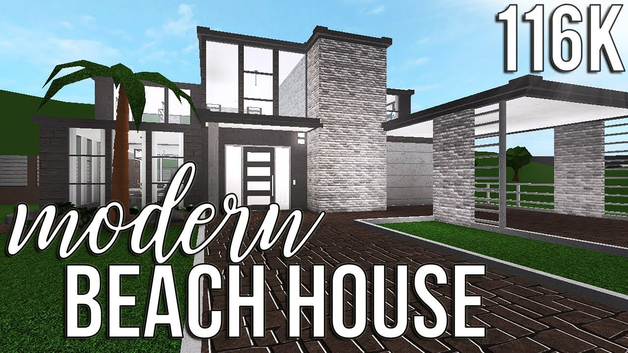 ROBLOX  Welcome to Bloxburg: Modern Beach House 8k