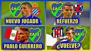 Actualidad Xeneize: ¿Paolo Guerrero o Calleri a Boca? - Vuelve Cardona - ¿Cubas a Boca?
